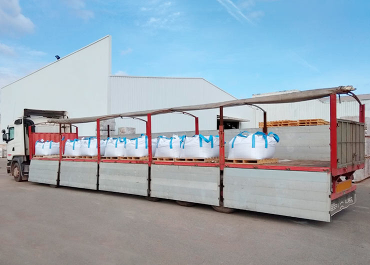 transporte mercancías plataforma